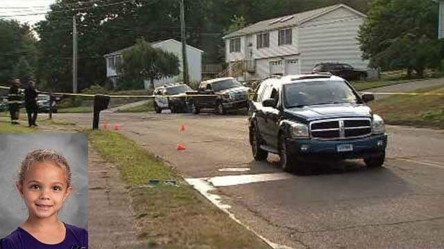 6-year-old Leah Rondon was killed after being struck by a vehicle Thursday (WFSB)