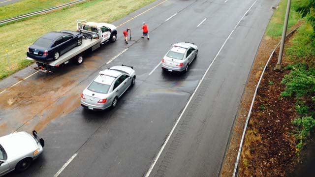 State trooper involved in 'very minor' crash (WFSB)