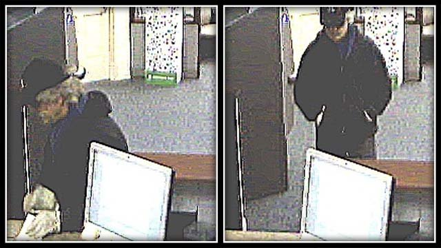 Suspect sought in Plainville bank robbery (Plainville police)