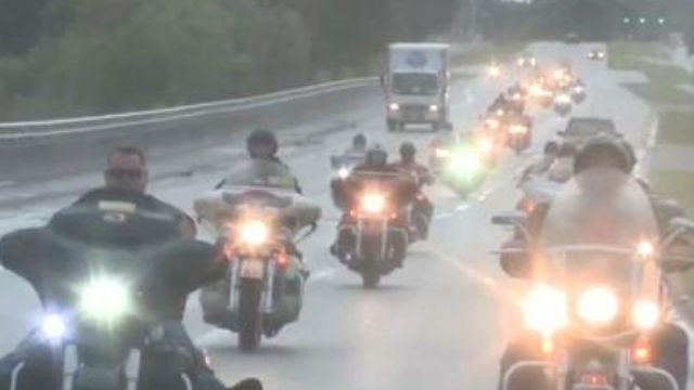 The motorcycle ride is the highlight of the 2015 Dream Ride. (WFSB file)