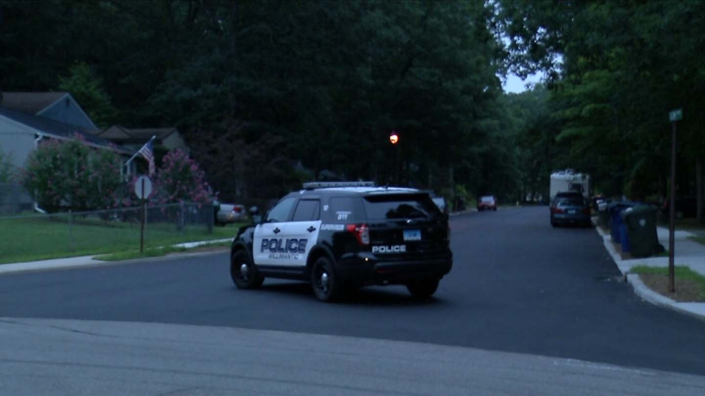 Police closed Gem Drive overnight following a standoff. (WFSB photo)