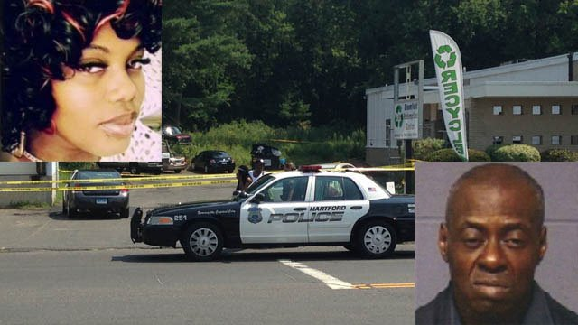Robert Graham is accused of murdering Tashauna Jackson. (Family/WFSB/Hartford police photos)