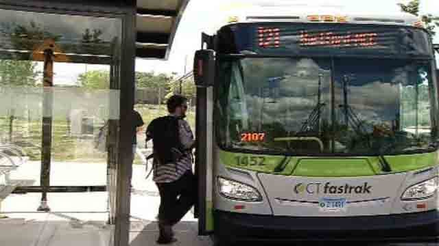 UConn fans can take CTfastrak straight to football games at Rentschler Field. (WFSB)