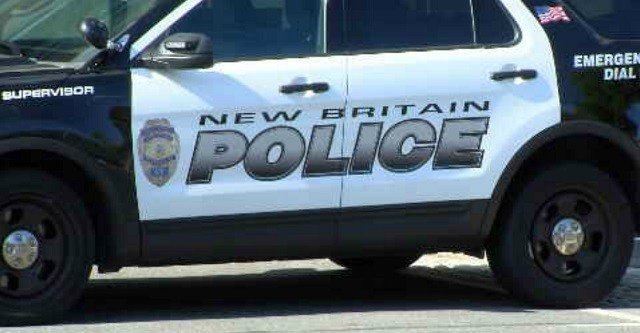 The New Britain Police Department responded to a serious crash involving a car and pedestrian on Sunday.