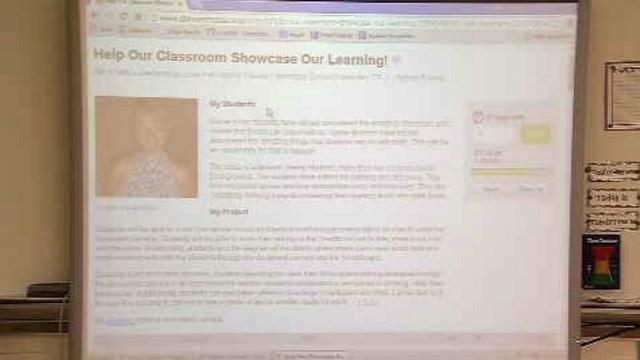Crowdsourcing website helps students' education in Meriden (WFSB)