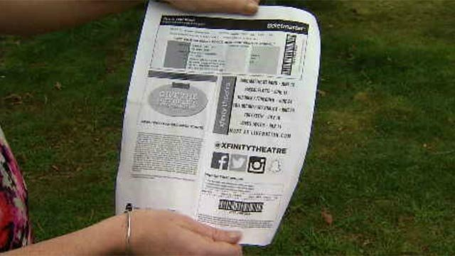 Family wants refund for 'invalid' concert ticket (WFSB)