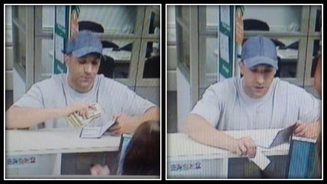 Police search for suspect after Westbrook bank robbery (CT State Police)