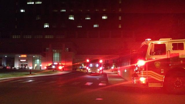 Reported fire forces 30 patients out of Saint Francis emergency department (WFSB)