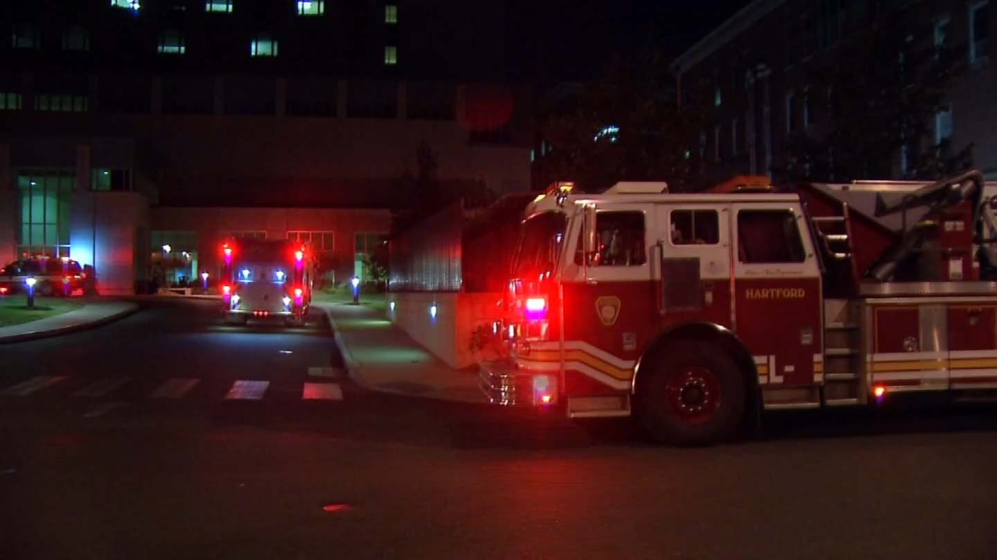 An electrical problem forced St. Francis Hospital to relocate 30 patients on Thursday. (WFSB photo)