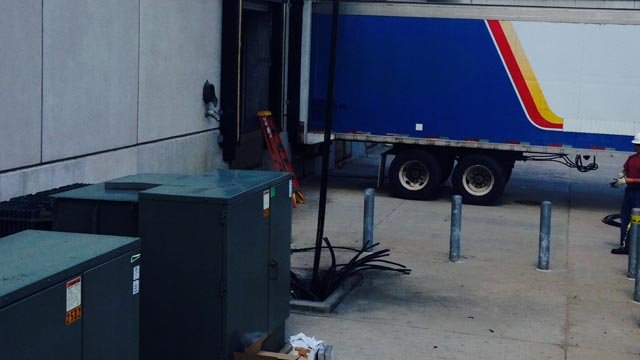 The blown transformer was removed after causing temporary power problems (WFSB)