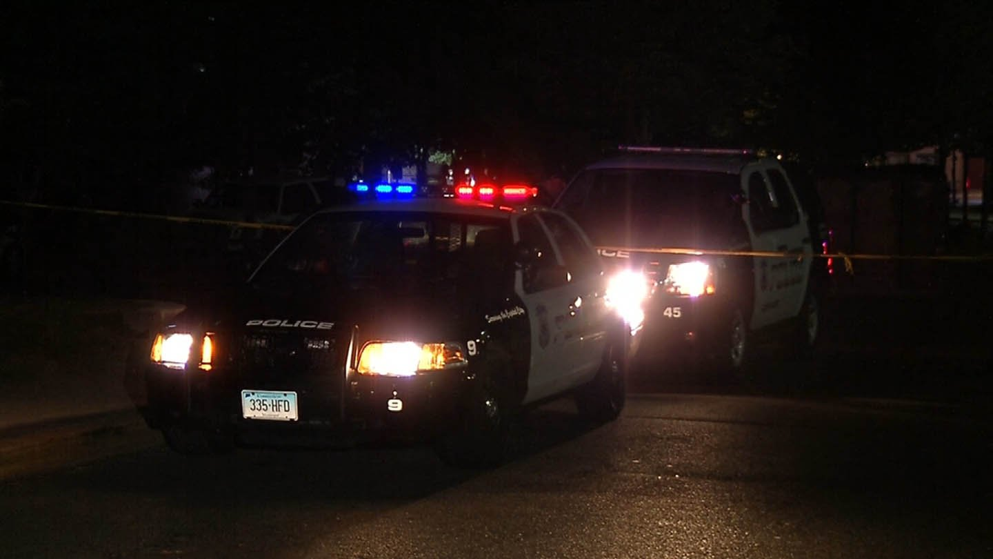 A man was shot and killed on South Prospect Street late Monday night. (WFSB photo)