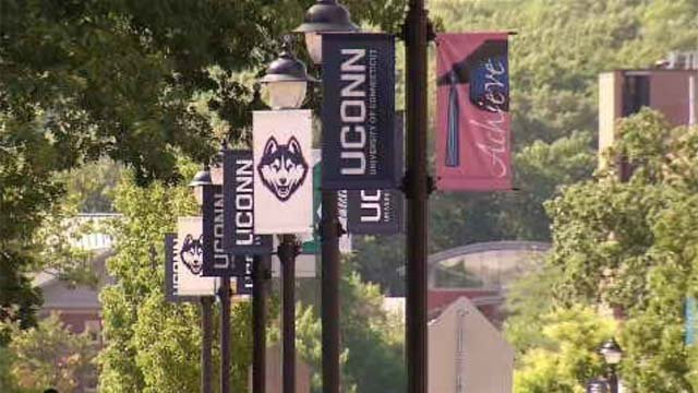 The University of Connecticut. (WFSB file photo)