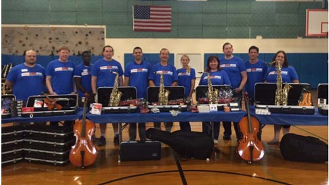 Torrington school receives more than $29,000 in new instruments (Submitted)