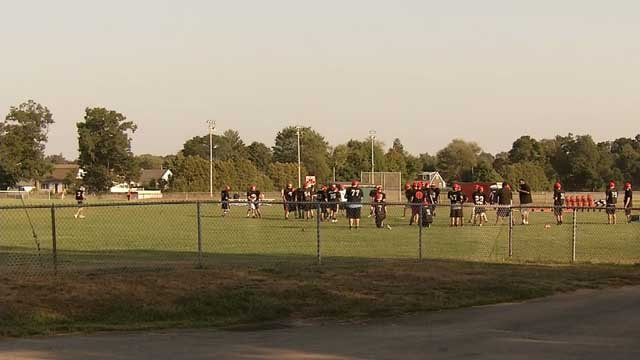 The Cromwell High School football team is at the center of a hazing investigation. (WFSB photo)