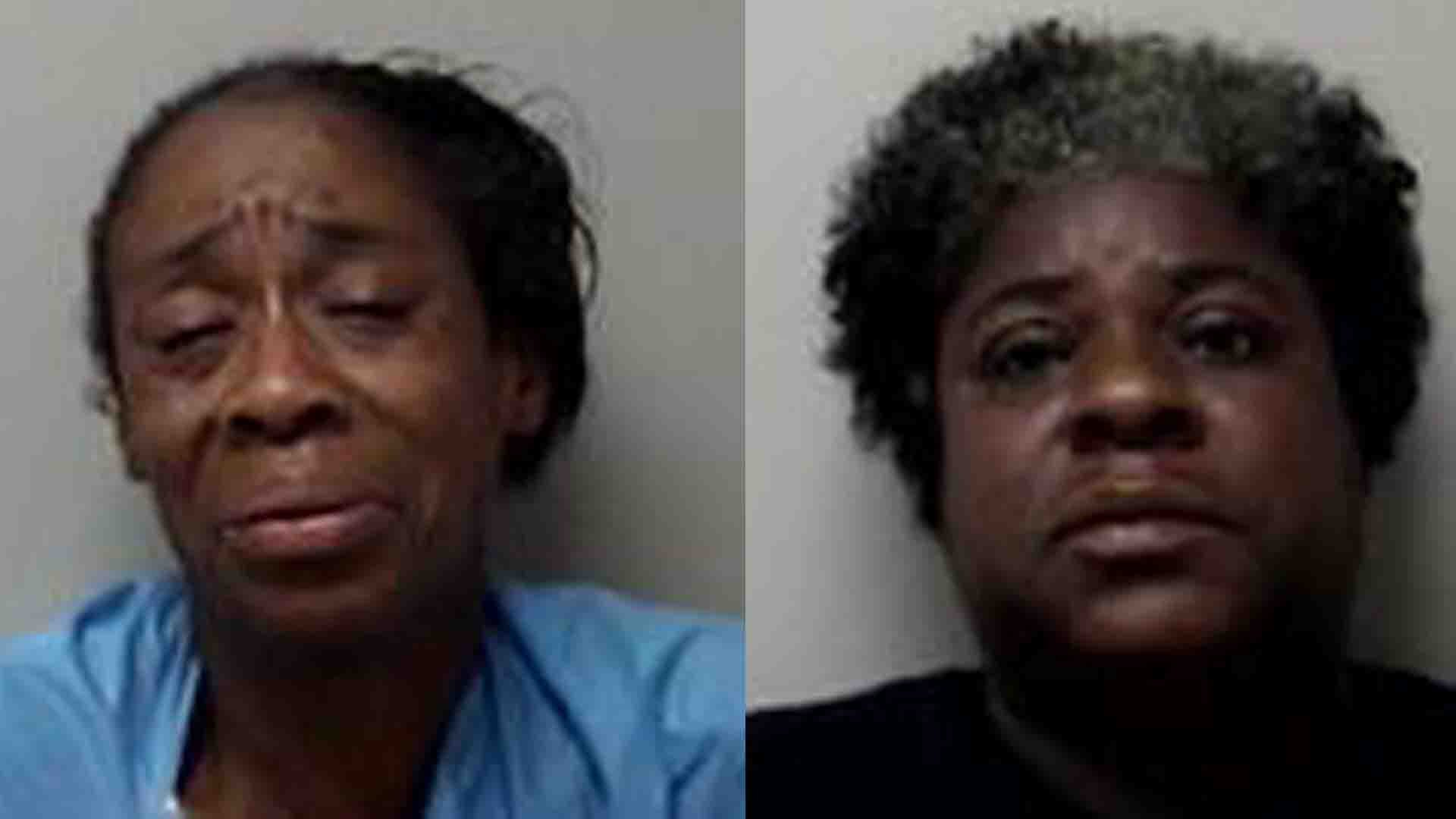 Barbara Jackson (left) and Mary Jordan (right). (Manchester police photos)