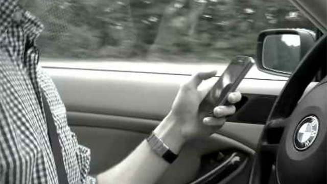 Video shows the dangers of texting and driving (WFSB)