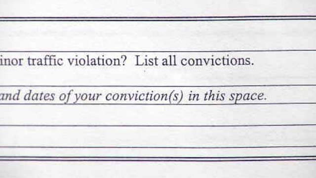New London eliminates criminal background question on job application (WFSB)