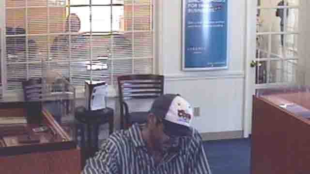 Suspect accused in Durham bank robbery (state police)