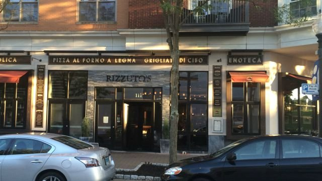 Rizzuto's restaurant and bar on Memorial Road in West Hartford closed on Saturday after a sprinkler malfunction. (WFSB)