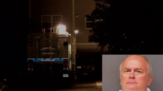 James F. Hodgdon was charged with murder after a shooting in Norwich. (WFSB/Norwich Police)