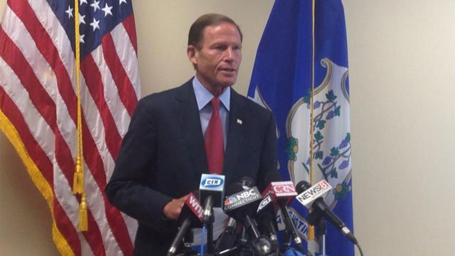 CT Sen. Richard Blumenthal says he will support Iran deal. He said it supports diplomacy. (WFSB)