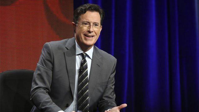 Stephen Colbert takes over the Late Show tonight. (CNN WIRE)