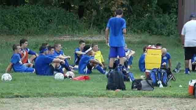 Soccer coaches make changes in record breaking heat (WFSB)