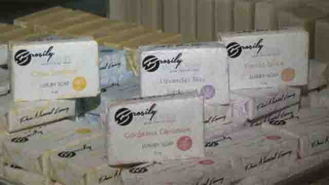 Meriden woman's handmade soaps will be included in Emmy swag bag (WFSB)