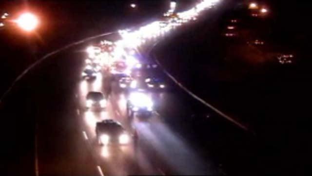 Pedestrian struck on I-84 east in West Hartford (WFSB)