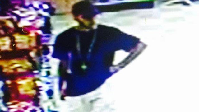 Police released this photo of the possible suspect in an armed robbery at Nature's Grocer. (Vernon Police Department)