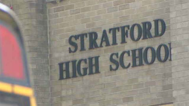 Stratford High School (WFSB file)