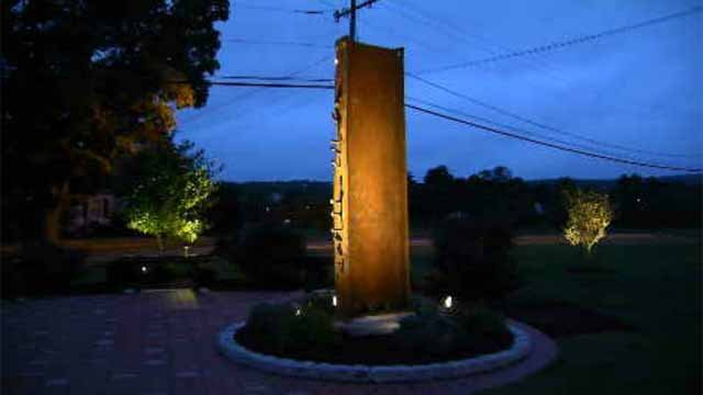 Middletown South Fire District has a piece of the World Trade Center at its headquarters (WFSB)