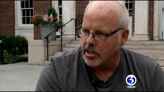 Tom Sullivan is on a quest for gun control following for the death of his son. (WFSB)