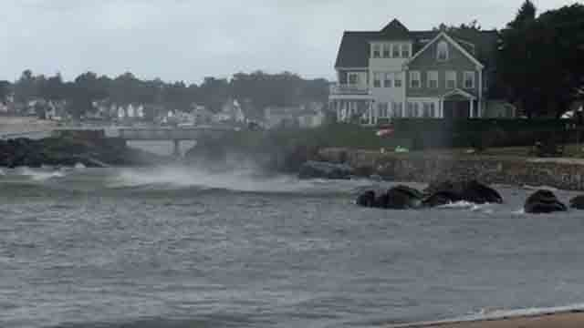 Waterspout spotted in Milford on Sunday (Richard Shain)