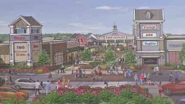Plans to build outlet mall proposed in Windsor Locks (WFSB)
