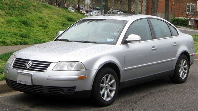 Newington police said a Volkswagen Passat like this one hit and killed a female in Newington Tuesday morning. (Newington police photo)