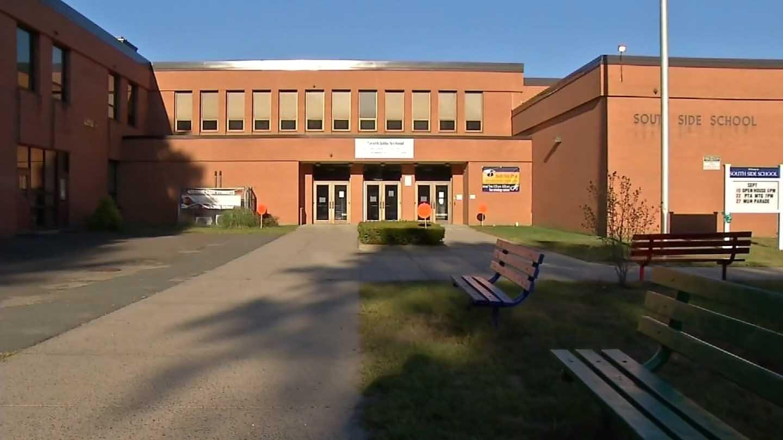 The South Side School. (WFSB photo)