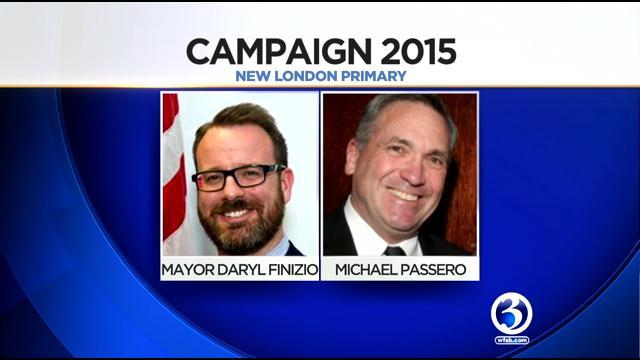 Mayor Daryl Finizio and challenger Michael Passero.