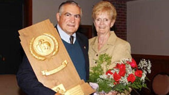 Joseph and Betty Morrone. (uconnhuskies.com photo)