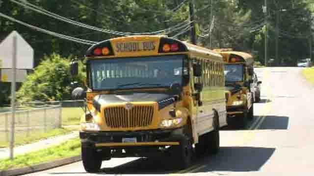 Southington school district installs cameras on buses (WFSB)