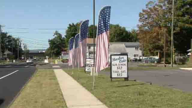 Plainville leaders threaten legal action against businesses with banners (WFSB)