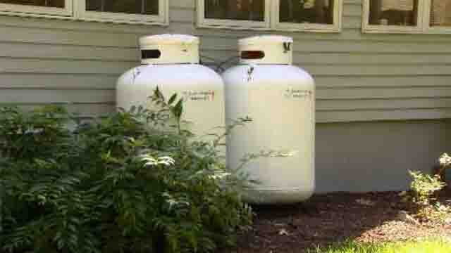 Propane dealers are urging customers to stock up now, before the next cold snap. (WFSB file photo)