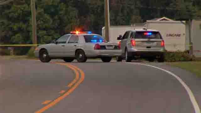 Route 32 in Franklin is closed for police activity (WFSB)