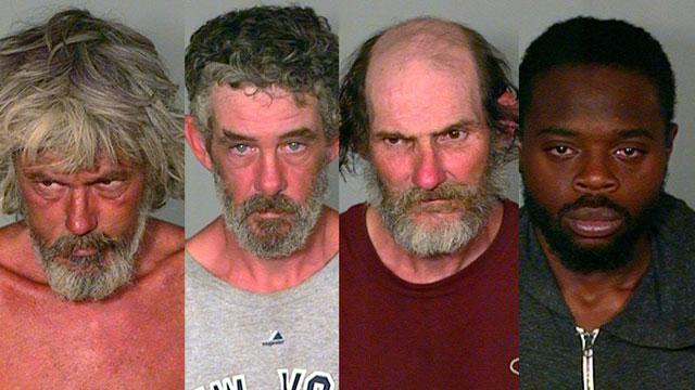 Paul Lapointe, Sean Shea, Jeffrey Fernandes and Joseph Allen. (New London police photos)