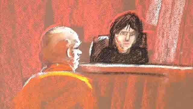 Courtroom sketch of William Devin Howell
