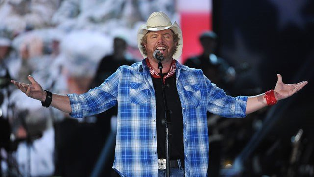 Toby Keith. (AP photo)