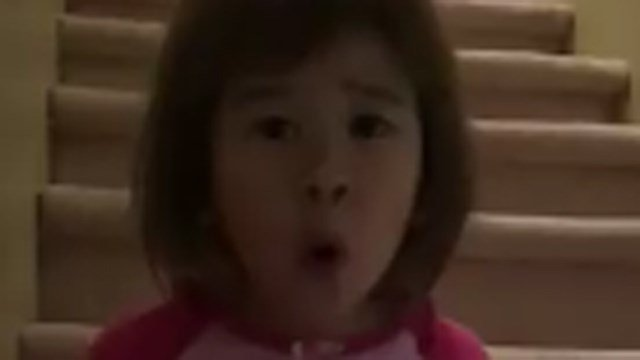 6-year-old Tiana's video has gone viral. (Facebook photo)