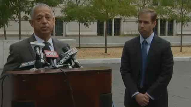Hartford Mayor Pedro Segarra announces he is no longer running for mayor. (WFSB)