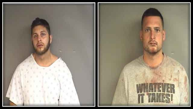 Stamford police arrested two men after a home invasion and a serious assault that happened at home in the Belltown area. (Stamford police)