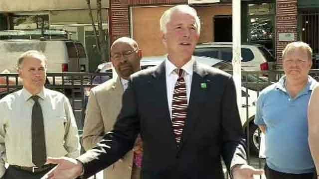 Incumbent Bridgeport Mayor Bill Finch. (WFSB file photo)